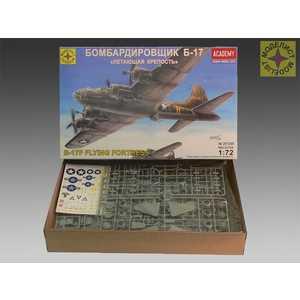 Моделист Модель бомбардировщик Б -17 Летающая крепость, 1:72 207268 фото