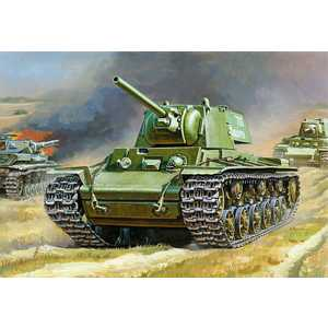 Звезда Модель Подарочный набор Советский танк КВ-1 3539 П