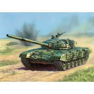 Звезда Модель Танк с активной броней Т -72 Б 3551 П танк звезда т 72б с активной броней 1 35 3551п подарочный набор