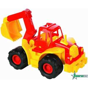 Трактор Нордпласт Богатырь с ковшом 98 трактор нордпласт