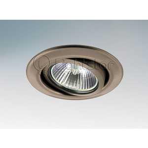 Точечный светильник Lightstar 11085 точечный светильник lightstar 4064