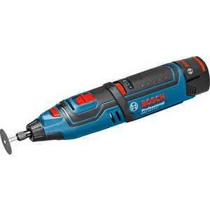 Гравер аккумуляторный Bosch GRO 10.8 V-Li без аккумулятора и з/у (0.601.9C5.000) аккумуляторный лобзик ryobi r18js0 без акк и з у