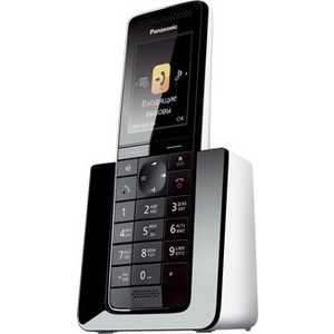 Радиотелефон Panasonic KX-PRS110RUW panasonic kx tg1611rur dect phone digital cordless telephone wireless phone system home telephone