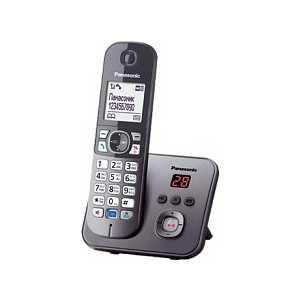 Радиотелефон Panasonic KX-TG6821RUM радиотелефон panasonic kx tg8061ruw
