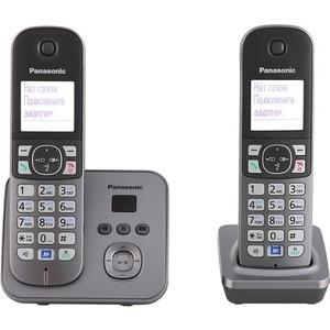 Радиотелефон Panasonic KX-TG6822RUM цена