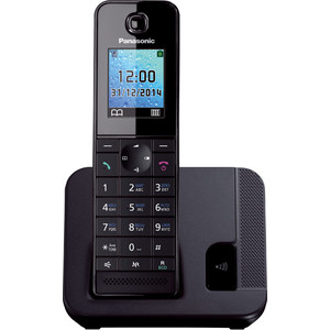 Радиотелефон Panasonic KX-TGH210RUB panasonic kx tg1611rur dect phone digital cordless telephone wireless phone system home telephone