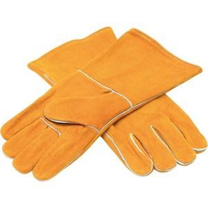 Краги сварщика Elitech оранжевые (0606.015700)