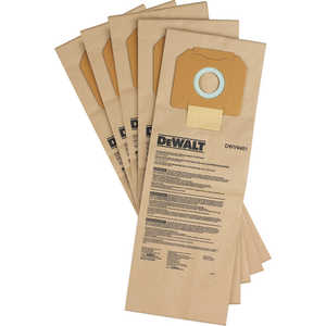 Мешки бумажные DeWALT 5шт (DWV 9401) мешки бумажные status 30л 5шт 9611301