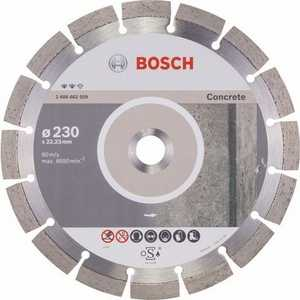 Диск алмазный Bosch 230х22.2мм Expert for Concrete (2.608.602.559) диск алмазный bosch 2608602592 expert for stone 230x22 23 мм