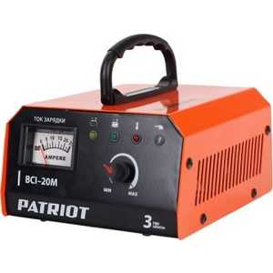 Фото - Зарядное устройство PATRIOT BCI-20M автомобильное зарядное устройство patriot bci 10m