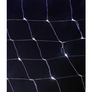 Light Светодиодная сеть тепл. белая 2x2 прозрачный провод с контроллером