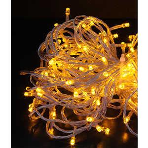 Гирлянда светодиодная Light Нить с возможностью динамики 20 м желтая 24V прозрачный провод фото