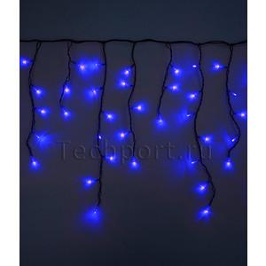 Light Светодиодная бахрома синяя 4,8x0,9 чёрный провод комплектующие