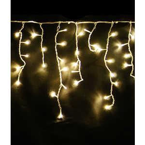 Light Светодиодная бахрома желтая 3,1x0,5 белый провод
