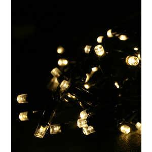 Гирлянда Light Светодиодная нить 10 м тепл. белая 220V чёрный провод (мерцание 100 процентов)
