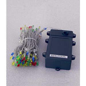 Гирлянда светодиодная Light Нить на батарейках 10 м мульти 4,5V прозрачный провод