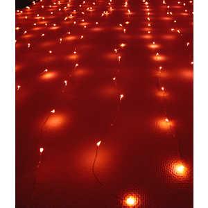 Светодиодный занавес Light Роса 1,6x1,6 красный 12V