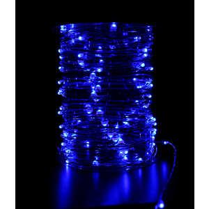 Гирлянда светодиодная нить Light Роса синяя 10 м 12V.