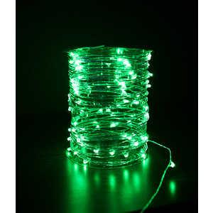 Гирлянда светодиодная нить Light Роса зеленая 10 м 12V.