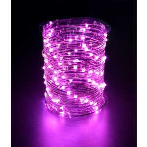 Гирлянда светодиодная нить Light Роса розовая 10 м 12V.