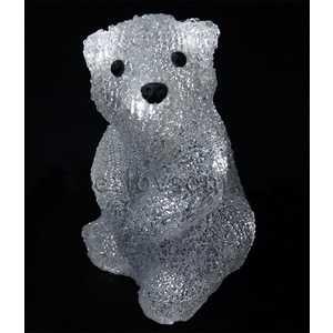 Светодиодная фигура Light Медвежонок D 20 см, 16 led, 3АА