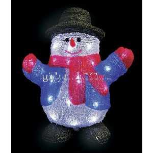 Светодиодная фигура Light Снеговик 24 см, led, 220/24V
