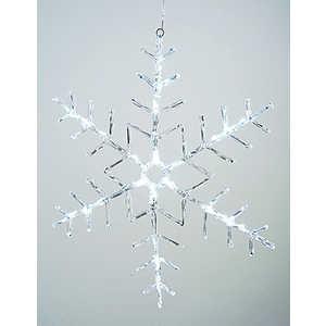 Светодиодная фигура Light Снежинка 60x60cm 32 led , 220/24v