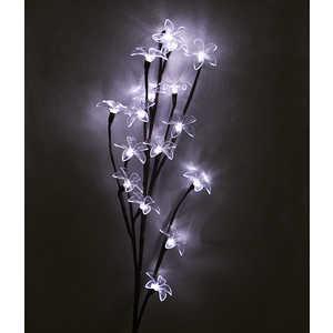 Light Ветка Сакуры на батарейках прозрачные цветы 59 см