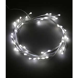 Светодиодная композиция Light Венок-ветка, 30 см, 24V, белый провод