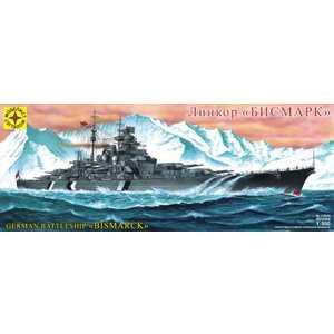 Моделист Модель Линкор Бисмарк, 1:350 135029 корабль моделист линкор тирпиц 1 800 серый 180080