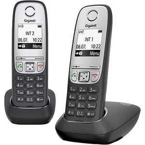 Радиотелефон Gigaset A415 Duo черный радиотелефон