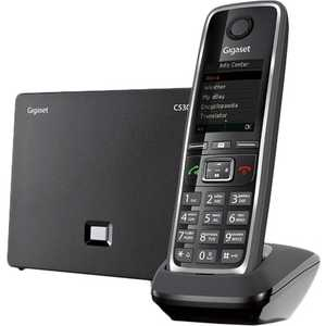 Радиотелефон Gigaset C530A IP черный gigaset c530a ip черный