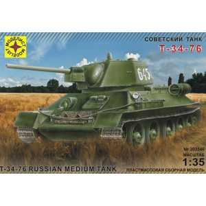 Модель для склеивания Моделист танк Т-34-76 1942 г, 1:35 (303546)