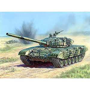 Звезда Модель Танк с активной броней Т-72Б 3551