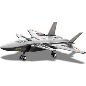 Dr.Luck Конструктор масштабная модель истребитель J20, 286 деталей JX003