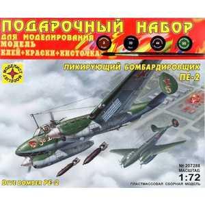 Моделист Модель Пикирующий бомбардировщик Пе-2, 1:72 ПН207288 фото