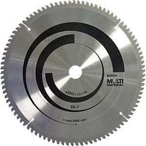 Диск пильный Bosch 254х30мм 96зубьев Multi Material (2.608.640.451)