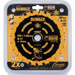 Диск пильный DeWALT 165х20мм 24зуба Extreme (DT 10300)