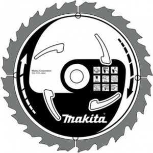 Диск пильный Makita 355х35/25.4мм 120зубьев (A-81642)