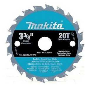 Диск пильный Makita 85х15мм 20зубьев (B-31142)