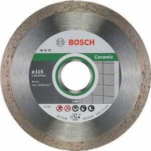 Алмазный диск Bosch 115х22.2 мм 10 шт Standard for Ceramic (2.608.603.231)