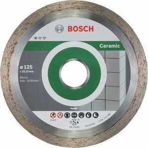 Фото - Диск алмазный Bosch 125х22.2 мм 10 шт Standard for Ceramic (2.608.603.232) диск алмазный bosch 2 608 602 201 pf ceramic 115 22 23