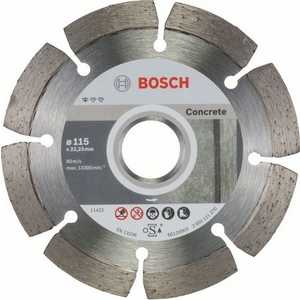 Диск алмазный Bosch 115х22.2 мм 10 шт Standard for Concrete (2.608.603.239)