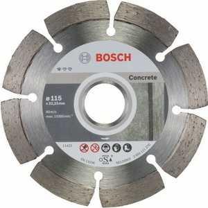 Алмазный диск Bosch 115х22.2 мм 10 шт Standard for Concrete (2.608.603.239)
