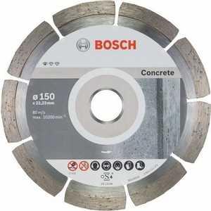 Алмазный диск Bosch 150х22.2 мм 10 шт Standard for Concrete (2.608.603.241)