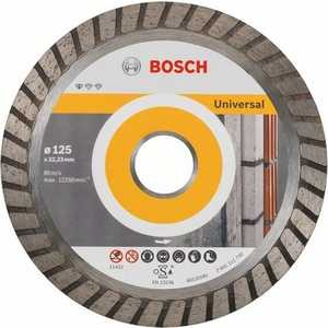 Диск алмазный Bosch 125х22.2 мм 10 шт Standard for Universal Turbo (2.608.603.250) диск алмазный bosch 150х22 2 мм best for universal turbo 2 608 602 673