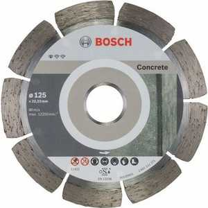Алмазный диск Bosch 125х22.2 мм 10 шт Standard for Concrete (2.608.603.240)
