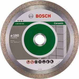 Диск алмазный Bosch 180х22.2 мм Best for Ceramic (2.608.602.633)