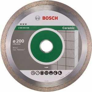 Диск алмазный Bosch 200х25.4 мм Best for Ceramic (2.608.602.636) фото