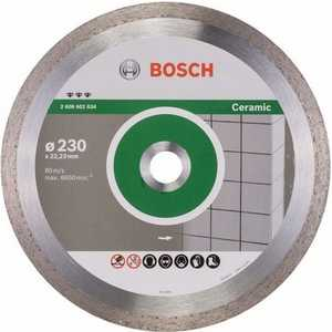 Фото - Диск алмазный Bosch 230х22.2 мм Best for Ceramic (2.608.602.634) диск алмазный bosch 2 608 602 201 pf ceramic 115 22 23